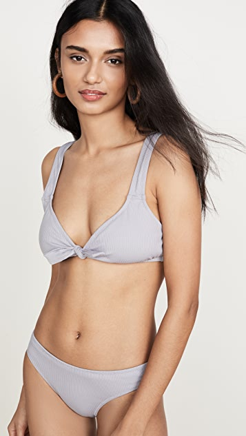 Madewell Second Wave Ribbed Bikini Bottoms