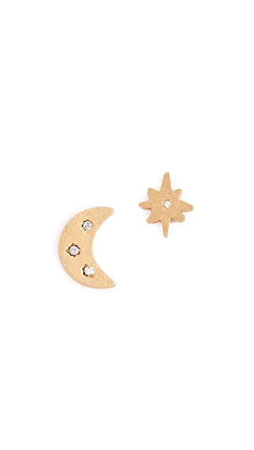 Madewell Celestial Stud Earrings