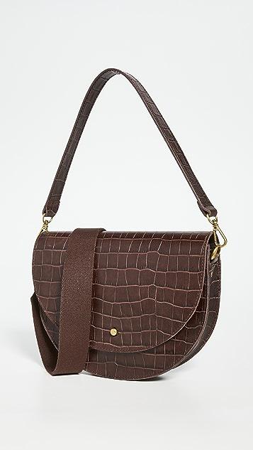 Madewell Medium Slim Saddle Bag
