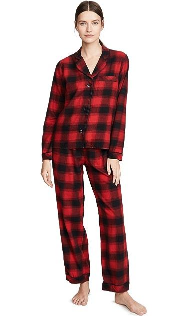 Madewell Flannel PJ Set