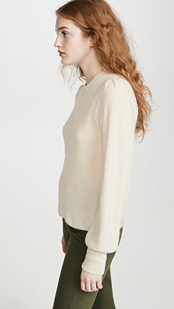 Madewell Nanhi Wide Cuff Puff Sweater