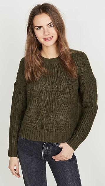 Madewell Everett Rib Pullover Sweater