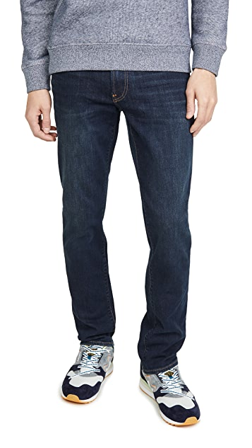Madewell Straight Jeans in Thermalite