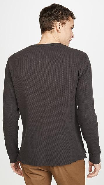 Madewell Long Sleeve Thermal Henley