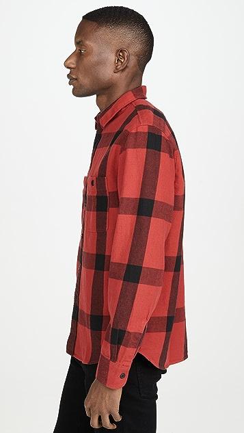 Madewell Window Pane Buffalo Plaid Shirt