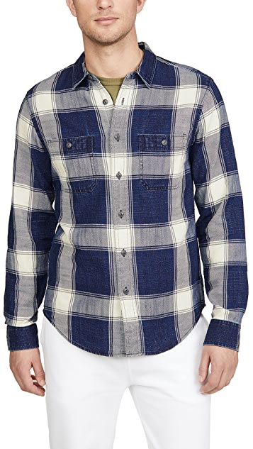 Madewell Double Pocket Indigo Shirt