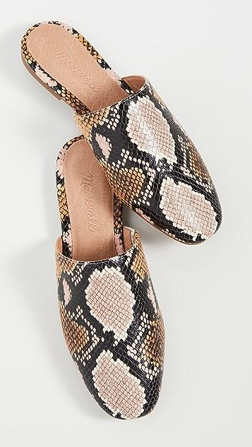 Madewell Carter 圆头穆勒鞋