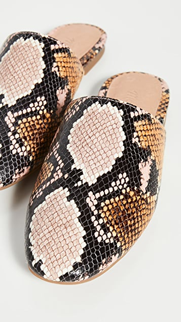 Madewell Carter Round Toe Mules