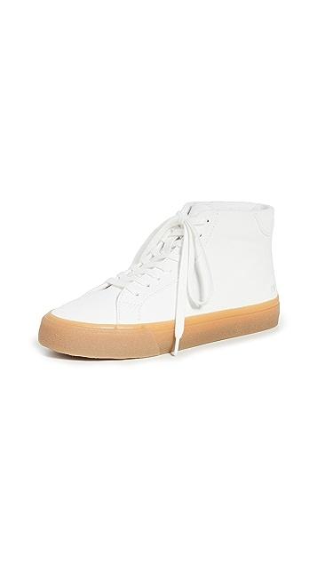 Madewell Sidewalk High Top Sneakers