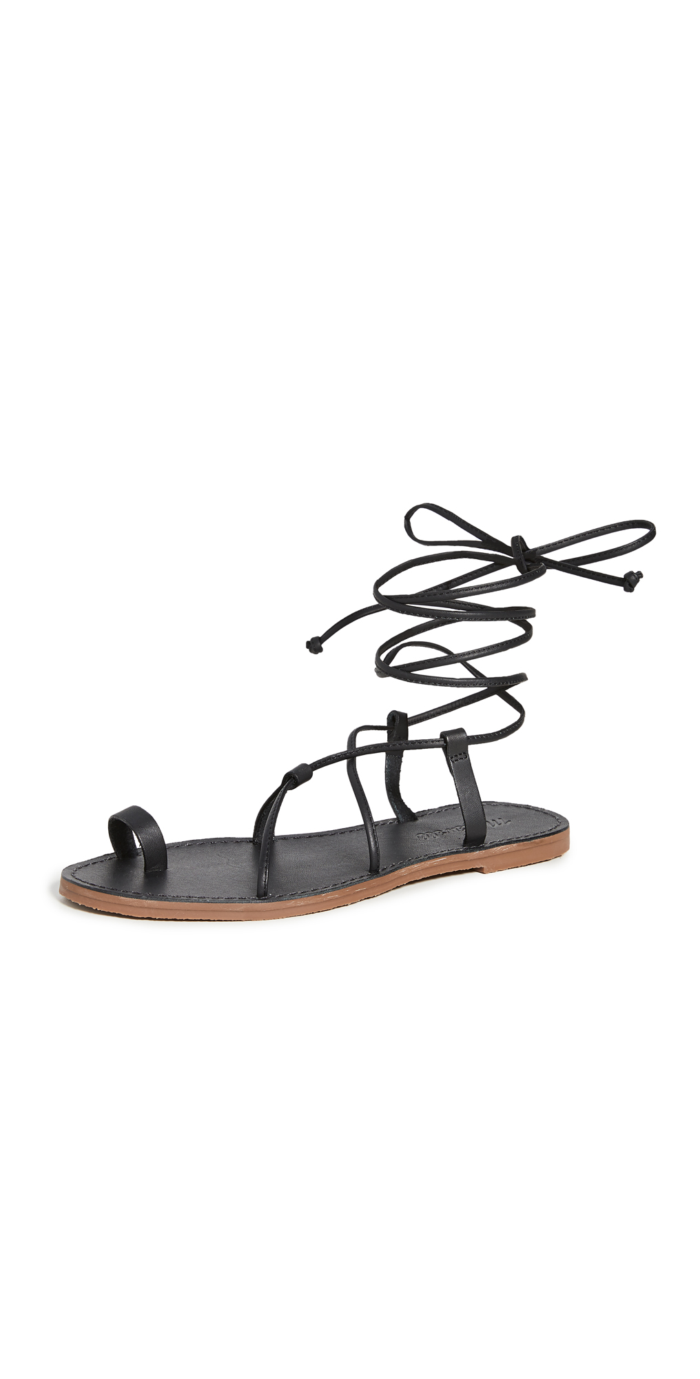 Madewell Ronda Boardwalk Lace Up Sandals