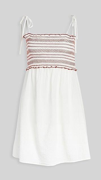 Madewell Sanibel Embriodered Dress
