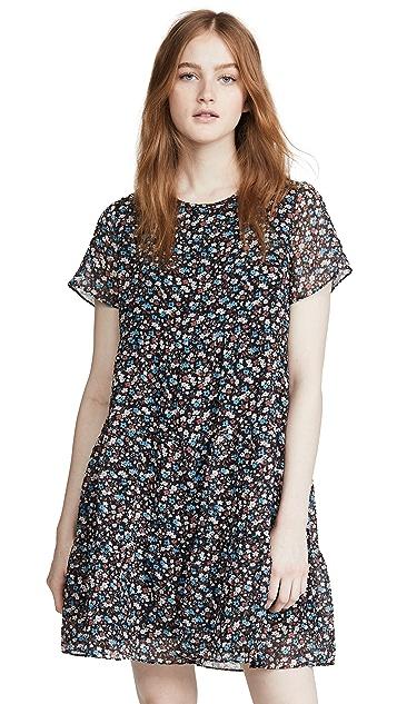 Madewell Tiered Mini Dress