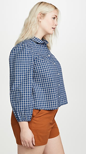 Madewell Western Long Sleeve Button Down
