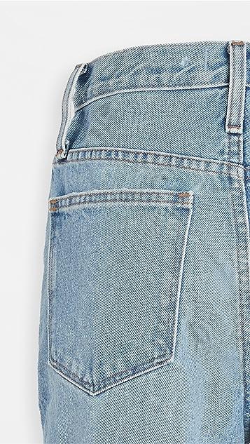 Madewell High Rise Midi Length Jean Shorts