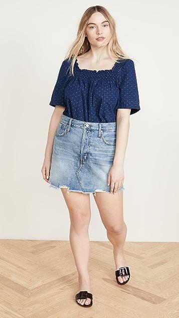 Madewell Frisco Denim Skirt