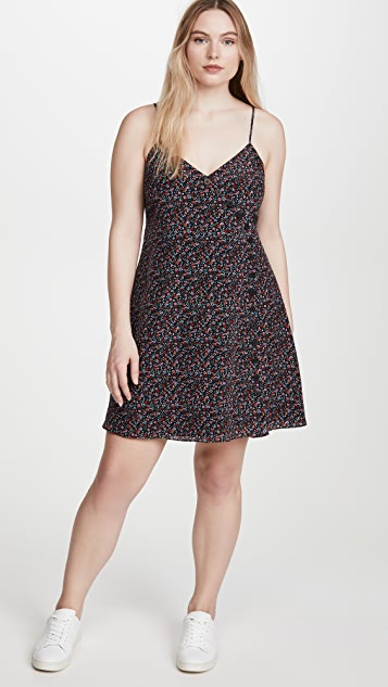 Madewell Cami Button Front Mini Dress