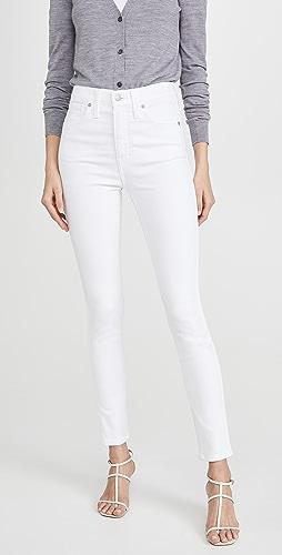 Madewell - 10'' 高腰紧身牛仔裤