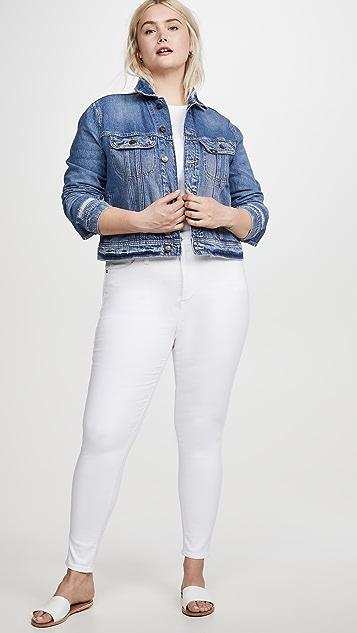 Madewell 10'' 高腰紧身牛仔裤