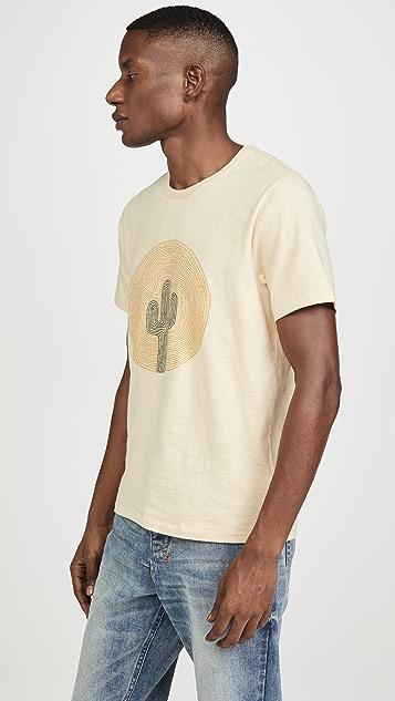 Madewell French Vanilla Cactus Graphic T-Shirt