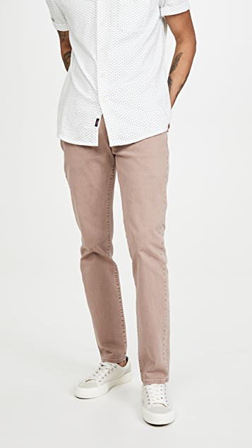 Madewell Garment Dyed Slim Denim Jeans