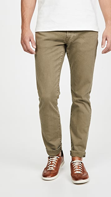 Madewell Garment Dye Slim Jeans