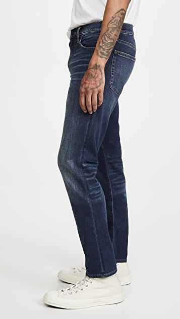 Madewell Straight Chiswick Jeans