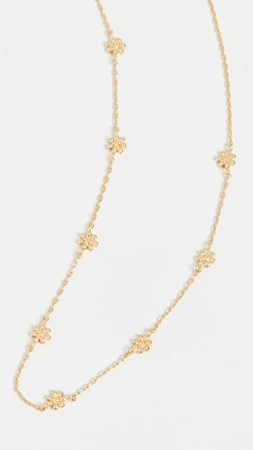 Madewell Brass Flower Necklace