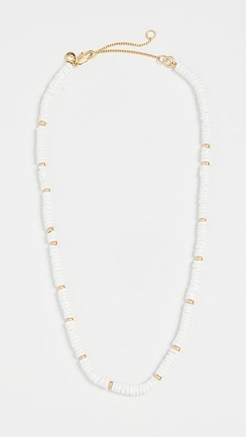 Madewell 普克珠贝项链