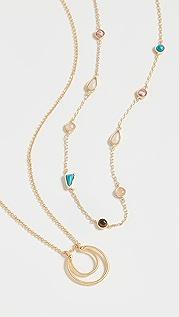 Madewell 宝石混合项链