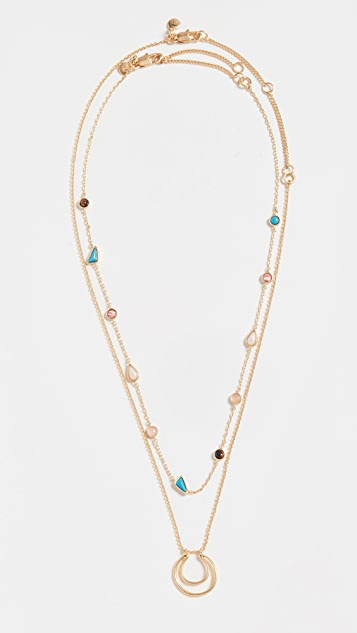 Madewell Stone Mix Necklace
