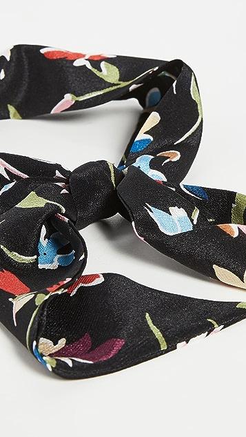 Madewell Узкий шелковый шарф