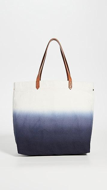Madewell 浸染帆布便携手提袋