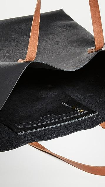 Madewell Объемная сумка с короткими ручками Transport