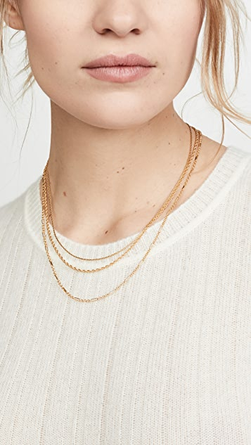 Madewell Mixed Chain Layer Set