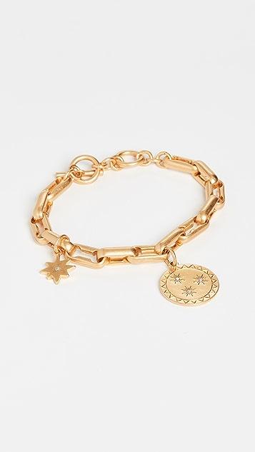 Madewell Chunky Charm Toggle Bracelet