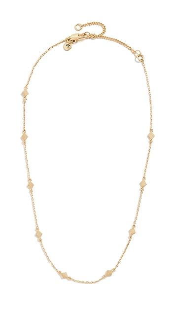 Madewell Diamond Shape Layer Necklace