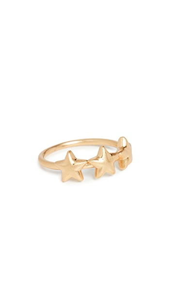 Madewell Puffy Star Ring