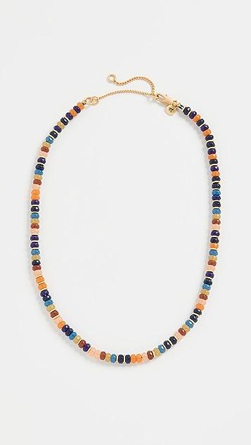 Madewell Beaded Disc Choker Necklace
