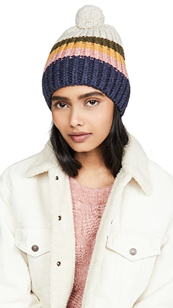Madewell 滑雪小兔绒球毛线帽