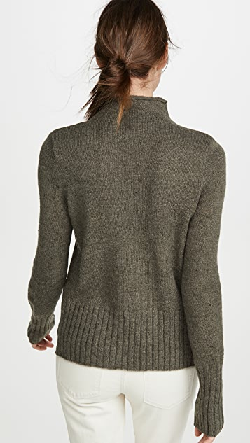 Madewell Donegal Inland Turtleneck