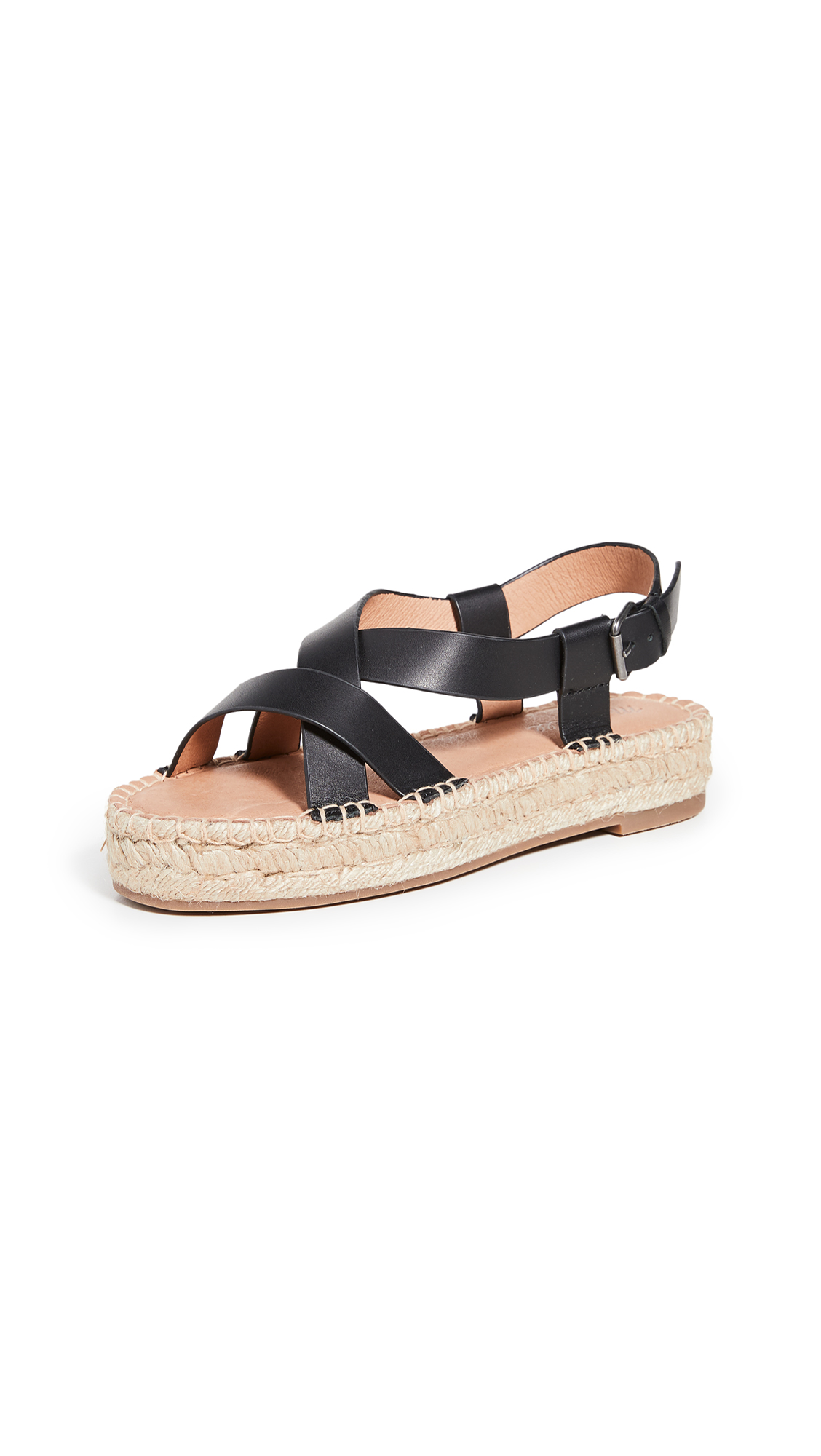 Madewell The Malia Espadrille Sandals