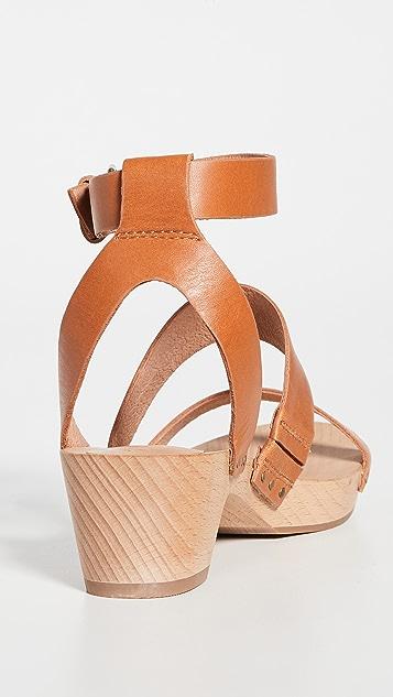 Madewell The Jodi 木底鞋