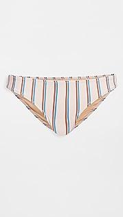 Madewell Second Wave Classic Bikini Bottoms
