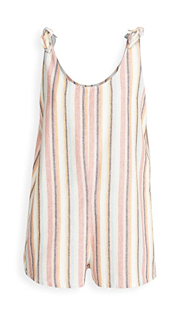 Madewell Tie Strap Cover Up Romper