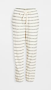 Madewell Striped Siesta Pajama Sweatpants