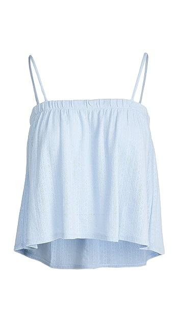 Madewell Pointelle Knit Pajama Tank Top