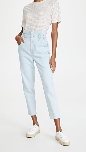 Madewell Classic Straight Paperbag Jeans
