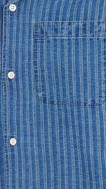 Madewell Short Sleeve Perfect Button Down Shirt