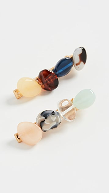 Madewell Small Assembled Bead Alligator Clip Pack