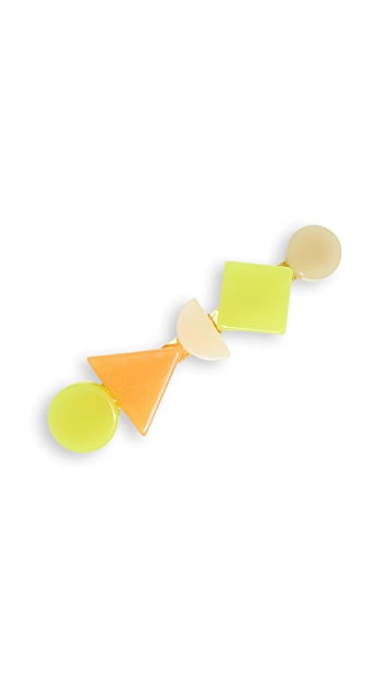 Madewell Geo Shapes Barrette